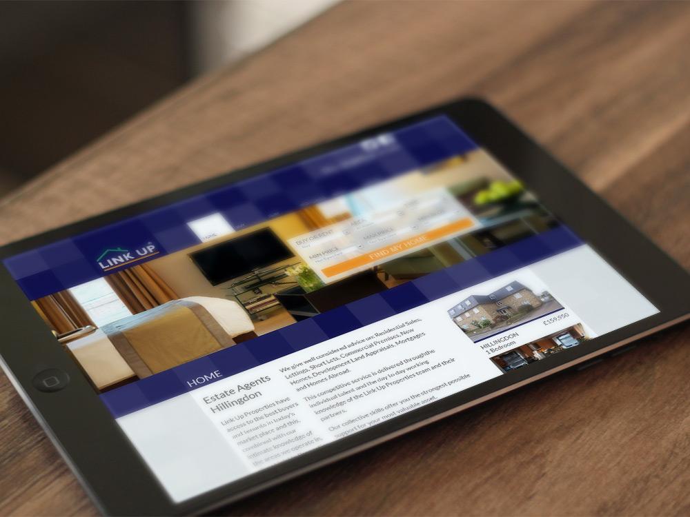 Estate Agents Website - Link Up