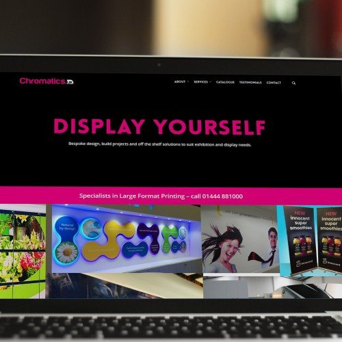 Chromatics - Digital Prints Agency Website