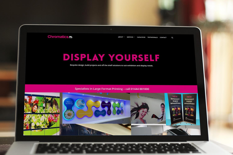 Chromatics - Digital Prints Agency Website