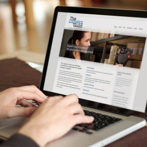 Logistics Guild Website Designed by Tyler Consultants