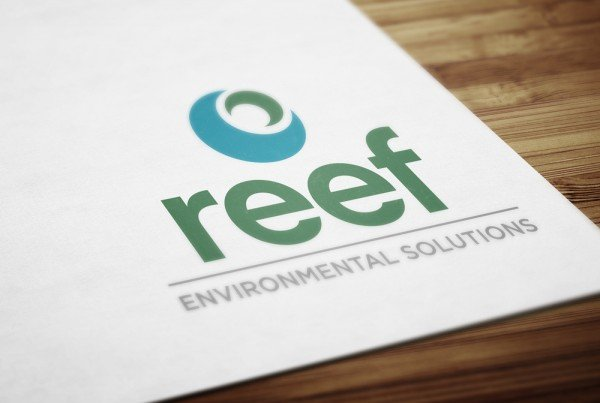 Reef, Environmental Consultancy Logo - Designed by TCmarketing, East Sussex