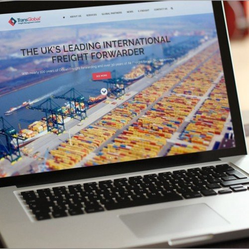 International Freight Website