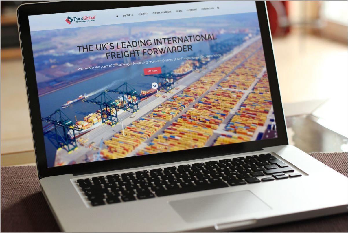International Freight Website