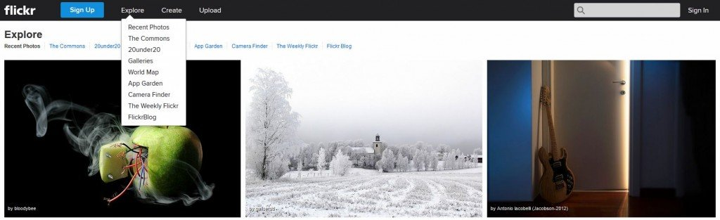 Flickr - Photographer Community where you can find Creative Commons images.