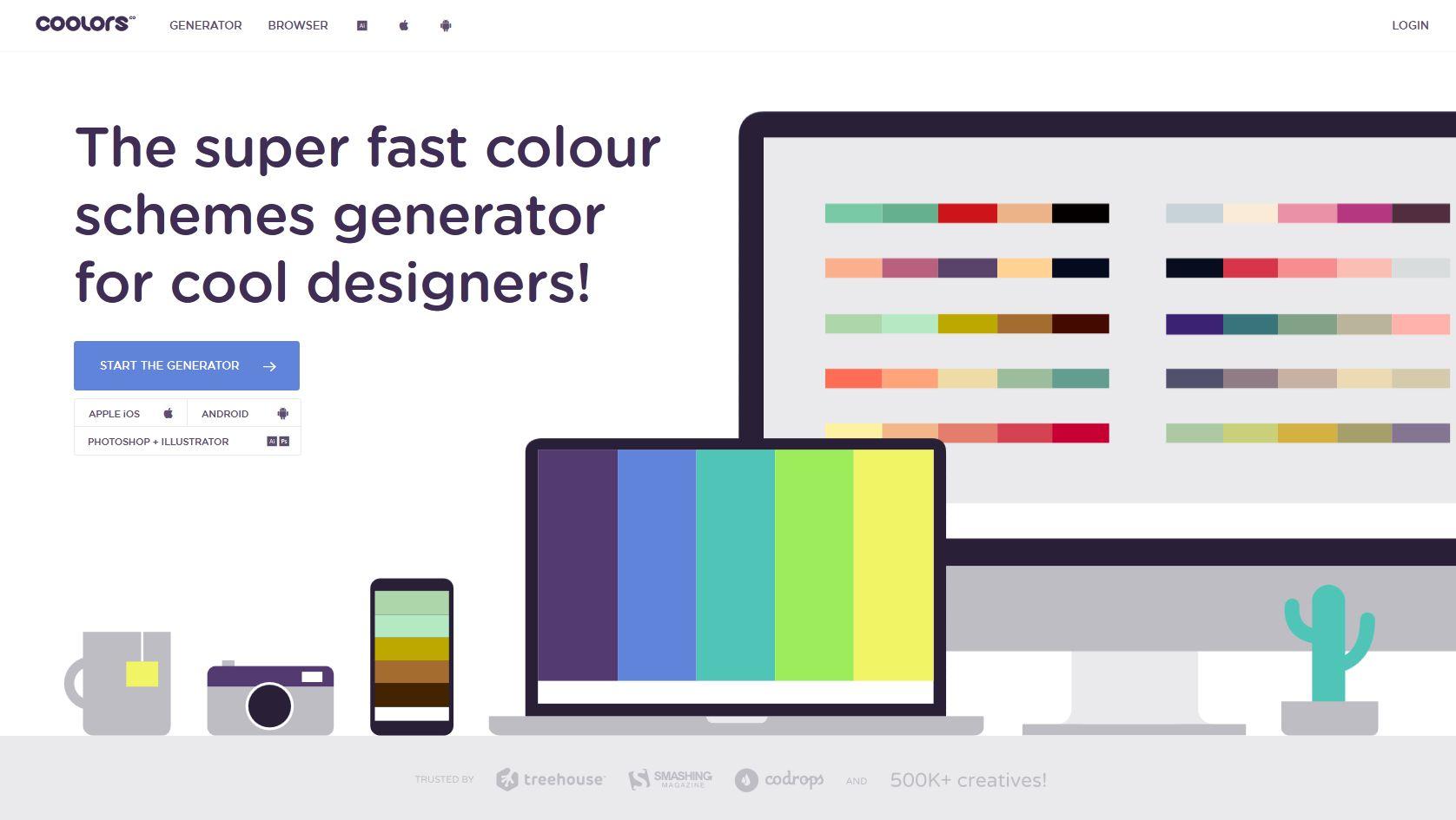 The Best Colour Generator