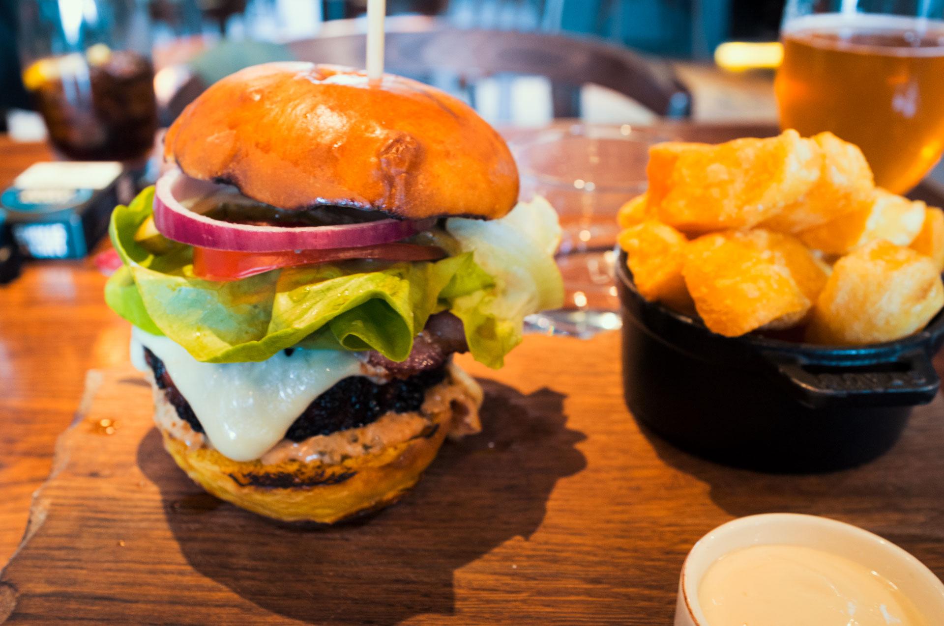 The Coal Shed – Black Angus Steak Burger