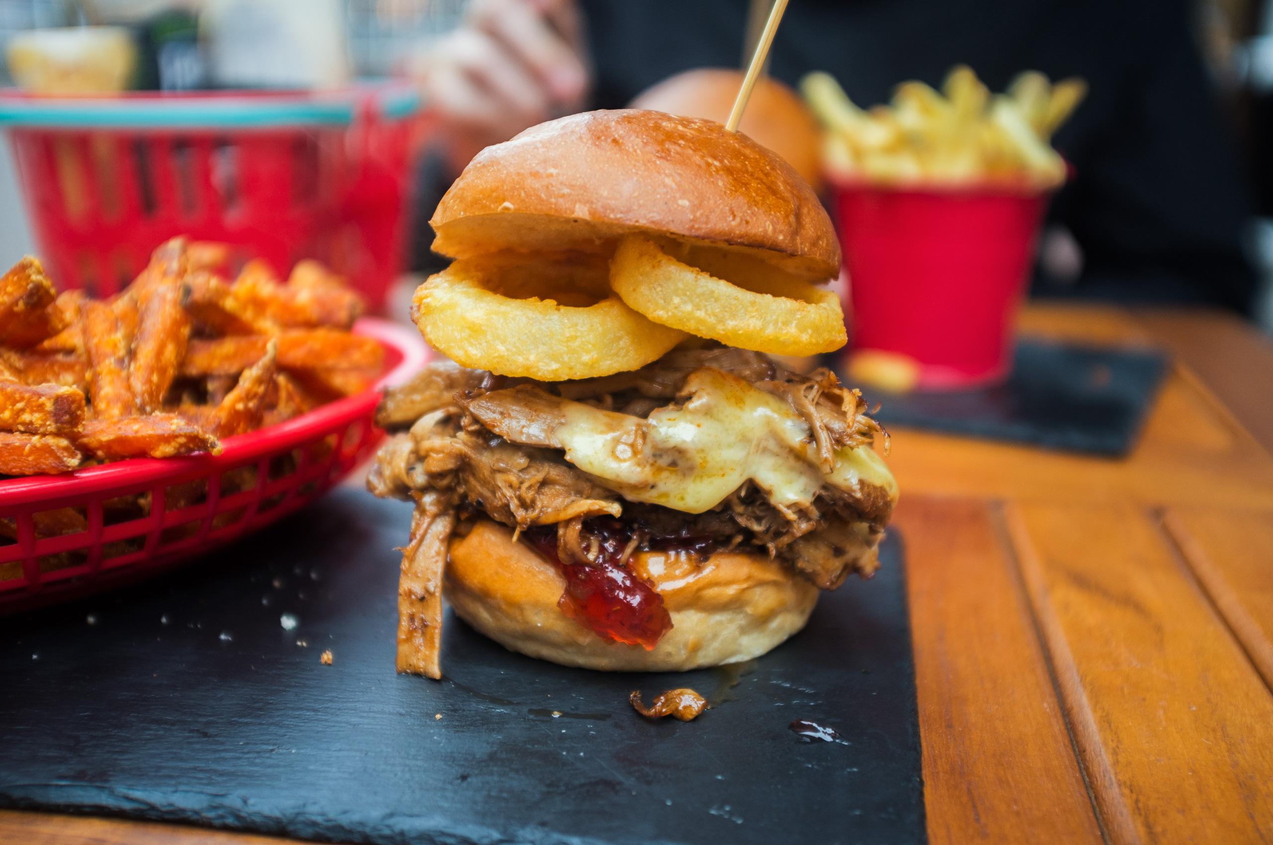 Brighton Burger – Wagyu Smokestack